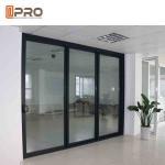Buy cheap Powder Coated Bullet Proof Aluminium Sliding Glass Doors Customized Size corner sliding door sliding door sensor price from wholesalers