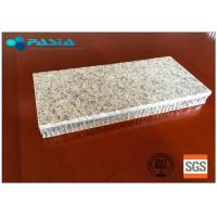 Buy cheap Saving Stone Material Honeycomb Granite Panels Limited Radiation Pollution from wholesalers
