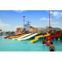 Buy cheap FRP Kids Combinaton Water Slide By Body Or Raft For Outdoor Water Park from wholesalers