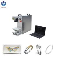 Buy cheap New Condition 220v Fiber Optic Laser Engraving Machine from wholesalers