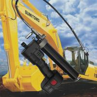 Buy cheap Latest patent 12V battery grease gun used for various excavator from wholesalers