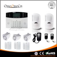 GSM Wireless Security Alarm System LCD display and  Auto dialer Manufactures