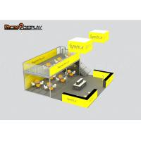 Buy cheap Durable Double Decker Trade Show Booth / Two Level Booth For Trade Show Display Stand from wholesalers