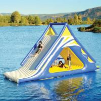 Buy cheap Aquaglide Summit Express Inflatable Water Sports / 16' Gigantic Inflatable Water Slides from wholesalers