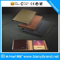 Buy cheap LOOSE LEAF NOTEBOOK with 6 ring mechanism, hard wearing PU Cover, index card and address b from wholesalers