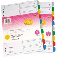 Buy cheap 8 Tab Clear Tab Divider from wholesalers