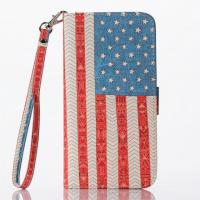 Buy cheap USA Flag Pattern Cell Phone Case With Credit Card Slot For Iphone 6 Plus(5.5) from wholesalers