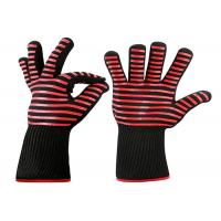 Buy cheap Baking Heat Resistant Work Gloves Silicone Strips For Oven / Microwave from wholesalers