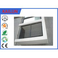 Buy cheap Natural Anodized Extrusion Aluminum Fence Slats for Window , Residential Aluminum Fencing from wholesalers