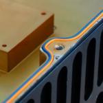 Buy cheap Flexible Conductive Elastomer Gasket Wide Temperature Range COE605 from wholesalers