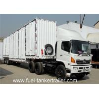 Buy cheap 70 Cbm Utility Reefer Box Semi Trailer , refrigerated cargo trailer from wholesalers