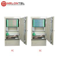 Buy cheap Anti Corrosion SPCC Telecom Fiber Optic Cross Connect Cabinet 96 Core Floor Type Outdoor  MT 1302 from wholesalers