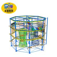 Buy cheap Customized Rope Climbing Playground Equipment For Amusement Parks from wholesalers