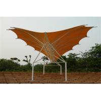 Waterproof Tentioned Membrane With High Strength Steel Structure Stadium Awning Manufactures