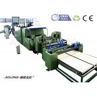 Automatic Mattress Stiff Polyester Wadding Machine With Heat Conducting Oil Manufactures