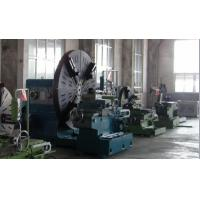 Large Size Floor Type Mechanical Facing Lathe Machine With 4 Steel Jaws 1800mm Manufactures