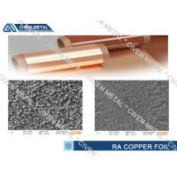 Buy cheap Treated Thin Copper Foil sheet roll / FPC FCCL FPCB pure copper sheet 35um from wholesalers