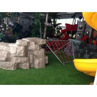Wholesale Galvanized Steel Children's Playground Equipment , Outdoor Climbing Structures For Kids from china suppliers