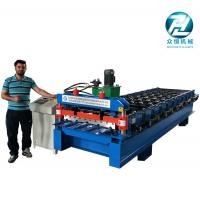 Wholesale Automatic Aluminum Cold Roll Forming Machine 4KW 10 Meters/Min from china suppliers