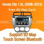 Buy cheap Honda City 2011 2012 Auto Radio DVD with Digital TV Bluetooth from wholesalers