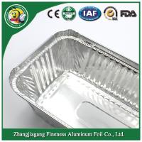 Buy cheap Aluminum foil container Silver Aluminum foil container for food from wholesalers