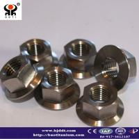 Buy cheap Titanium Seat Clamp Bolt and Nut from wholesalers