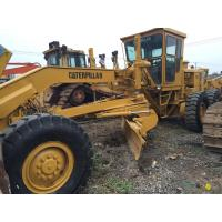 Buy cheap 134.2kw Max Power 18440kg Caterpillar 14G Used Motor Grader from wholesalers