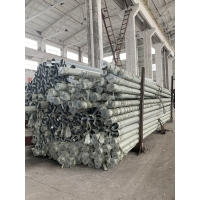Buy cheap 25FT 3mm thick hot dip galvanized octagonal electric pole with package from wholesalers