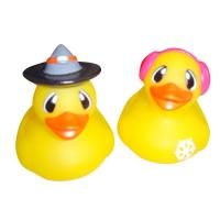 Buy cheap Children Mini Rubber Ducks / Personalized Rubber Duck Bathroom Set Yellow Color from wholesalers