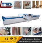 Buy cheap decorative woodgrain color pvc furniture vacuum membrane press machine from wholesalers