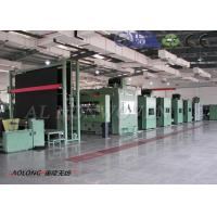 High Output Spray Bonded Wadding Machine Production Line With Fine Opening Machine