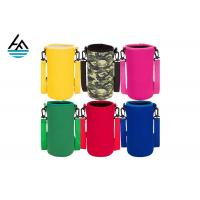 Buy cheap Colorful Printed Can Cooler Bag , Neoprene Can Cover Simple Fashion Diving Material from wholesalers
