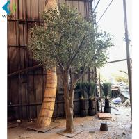 Wholesale Green Leaves Artificial Olive Tree Various Style For Indoor Outdoor Ornament from china suppliers