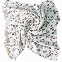 Buy cheap Cashmere-like Scarf, Customized Specifications are Accepted, Measuring 67x178 + 10x2cm product