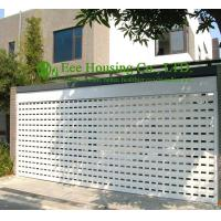 Buy cheap White Color Remote Control Aluminum alloy rolling garage door, Powder coating Surface from wholesalers