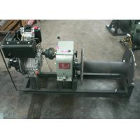 3 Ton Diesel Cable Pulling Drum Winch Capstan for Construction Hosit