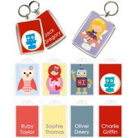 Buy cheap OEM attractive and various UV lithography Printing technics Personalised Bag Tags from wholesalers