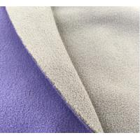 Buy cheap Two sides brushed two sides anti-pilling good thermal superior handfeel for casual suit Polar fleece knitted fabric from wholesalers