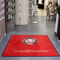 Buy cheap Nylon Printed Commercial Entrance Mats Welcome Home Floor Mat 83*150cm from wholesalers