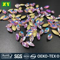 Buy cheap Large Sew On Flatback Rhinestones , Colorful  On Beads And Crystals Various Size from wholesalers
