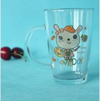 Buy cheap Custom made personalization transparent glass drinkware from wholesalers