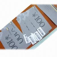 Buy cheap Anti-counterfeiting Discount Coupon Printing with Hidden Information in Barcode from wholesalers