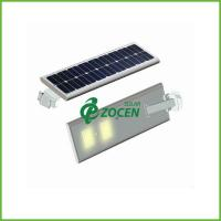 3M Pole 5W Solar Panel Street Lights Solar Garden Lamps with Toughened Glass Lampshade Manufactures