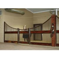 Buy cheap Outdoor Plywood Board European Horse Stalls Stable Stall Fence Panel With Roof from wholesalers