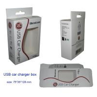 Buy cheap USB Car Charger Packaging Boxes, Paper Packaging Boxes for Car Charger from wholesalers