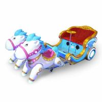 China kiddie ride 3D horse mechanical horse ride electric ride on horse toy amusement park rides children toys games for sale on sale