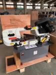 Buy cheap Single Column Semi Automatic Hydraulic Bandsaw Machine Scissors Type from wholesalers