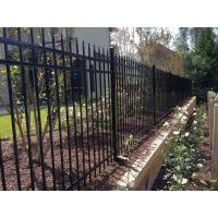 Buy cheap Galvanized Steel Spear Picket Top Tubular Garrison Australia Steel Fence from wholesalers
