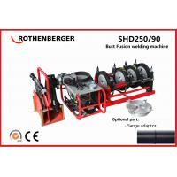 Buy cheap Rothenberger SHD250 PE plastic pipe hydraulic butt fusion welding machine hot jointing machine from wholesalers