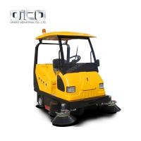Buy cheap electric sweeping machine street floor sweeping machine runway road sweepers street sweepers from wholesalers